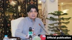 وزیر داخلہ چوہدری نثار علی خان (فائل فوٹو)