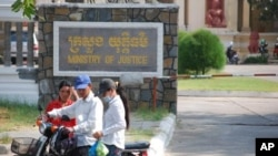 """""""The penal code comprises a total 672 articles, and among some of those articles, we need to take precautions,"""" said Run Saray, executive director for Legal Aid of Cambodia."""