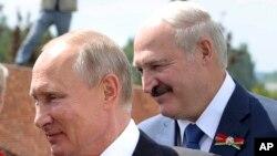 Putin û Lukashenko (Arşîv)