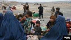 IDP families in Ningrahar