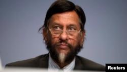 Ông Pachauri, chủ tịch Ủy ban Liên Chính phủ về Biến đổi Khí hậu (IPCC) từ năm 2002