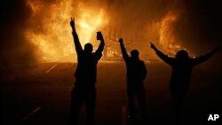 2014-yilda Missuri shtatining Ferguson shahri to'polonlar markaziga aylangan edi