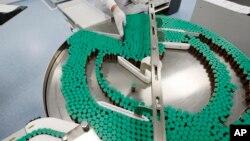 Nhà máy của Sanofi Pasteur sản xuất vắc xin Panenza ngừa vi rút H1N1
