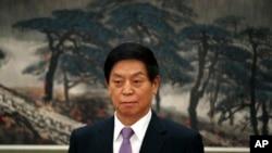 Ông Lật Chiến Thư (Li Zhanshu), Chủ tịch Quốc hội Trung Quốc.