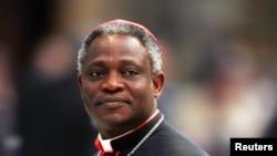 Kardinal Peter Kodwo Appiah Turkson dari Ghana juga disebut sebagai calon kuat pengganti Paus Benediktus XVI