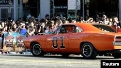 """Uno de los Dodge Charger de 1969, que representaron al """"General Lee"""" en la serie """"Los duques de Hazard"""""""