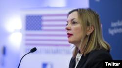 Pomoćnica državnog sekretara SAD za obrazovanje i kulturu Meri Rojs (Ambasada SAD u Budimpešti preko Tvitera)