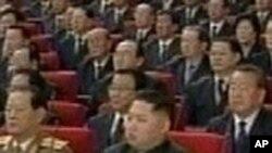 김정은과 자리를 같이 한 북한의 관리들