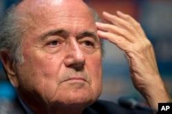 Presidente da FIFA Sepp Blatter