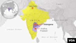 New State Telangana in India