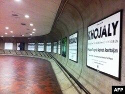 Vaşinqton metrosunda Xocalı barədə posterlər (VİDEO)