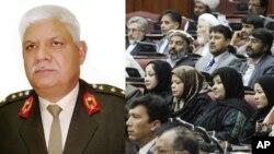 وزیر دفاع افغانستان تحصیلات عالی اشرا در بخش توپچی انجام داده است