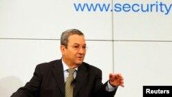 Bộ trưởng Quốc phòng Israel Ehud Barak tại Hội nghị về Chính sách An Ninh lần thứ 49 ở Munich, Đức, 3/2/13