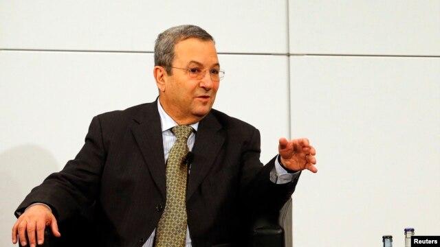 Bộ trưởng Quốc phòng Israel Ehud Barak phát biểu tại hội nghị an ninh ở Munich, ngày 3/2/2013.