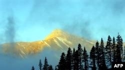The Hengduan mountain range in the Garze Tibetan Autonomous Prefecture in souhwestern