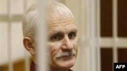Ông Ales Belyatsky, nhà hoạt động nhân quyền nổi tiếng ở Belarus