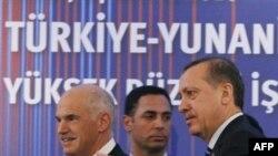 Türkiyə baş naziri Rəcəb Tayyip Ərdoğan Yunanıstana səfərdədir