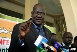 FILE - Ateny Wek Ateny, press secretary to South Sudan President Salva Kiir.