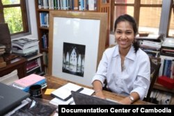 Sirik Savina, PhD Candidate and Director Museum of Memory of Sleuk Rith Institute. (Photo Supplied by DC-Cam)