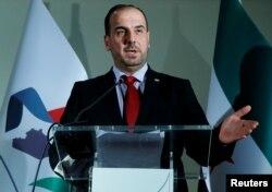Nasr Hariri, Ketua Komite Negosiasi Tertinggi Suriah (HNC). (Foto: dok).