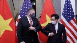 臨時增添訪越合力抵制中國擴張 蓬佩奧亞洲之行高調收尾