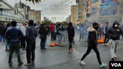 تصویری از اعتراضات مردم در ایران