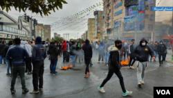 اعتراضات گرانی بنزین