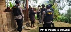 Situasi Papua setelah adanya kasus penembakan sebagai ilustrasi. (Foto: Courtesy/Polda Papua)