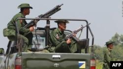 Sojojin Myanmar A Jihar Rakhine