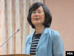 台湾法务部长罗莹雪