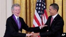 Ван Клиберн и Барак Обама