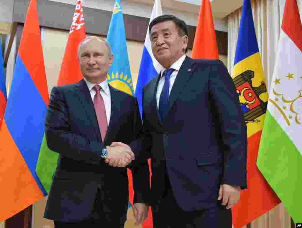 Putin va Jeenbekov