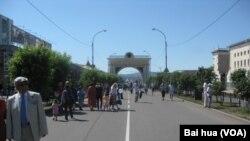 乌兰乌德市中心