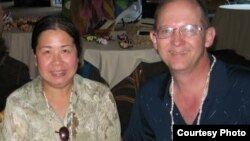 FILE - Sandy Phan-Gillis (L) is seen in an undated and uncaptioned photo with her husband Jeff Gillis. (Courtesy - SaveSandy.org)