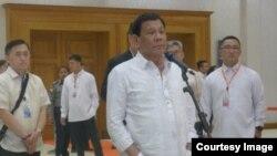 ဖိလိပုိင္-ျမန္မာ ခ်စ္ၾကည္ရင္းႏွီးမႈ Duterte လုိလား