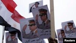 Misrning asl hukmdori - armiya boshlig'i general Abdel Fattoh al-Sissiy