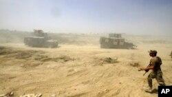 Các lực lượng đặc biệt Iraq thắng thế trong cuộc giao tranh chống lại Nhà nước Hồi giáo ở Fallujah, Iraq, ngày 15/6/2016.