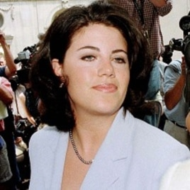 Former White House intern Monica Lewinsky (file photo)