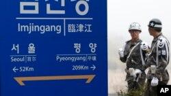 Se ha utilizado la plataforma para testar motores cohete que se encuentra en el extremo suroriental de las instalaciones de Sohae.