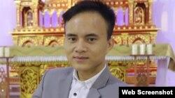 Nhà hoạt động Đậu Văn Dương. Facebook Dau Duong