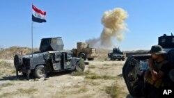 د می په ۳۱ عراقي ځواکونو فلوجې ته نژدې ځنې ساحې ونیولې