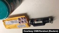 CNN Televizyonuna gönderilen şüpheli paket