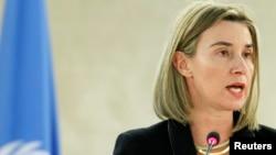Kepala kebijakan luar negeri Uni Eropa, Federica Mogherini (foto: dok).