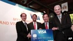 Myanmar Visa Card