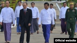 President U Thein Sein leave to 3 Europian countries. (Photo from President Office website) September 1st, 2014