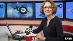 Татьяна Фельгенгауэр в студии «Эха Москвы»