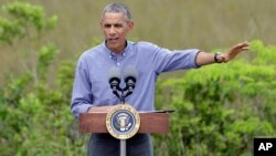 El presidente Barack Obama viaja a Alaska para descatar los efectos negativos del cambio climático.