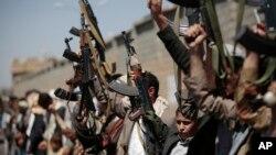 حامیان حوثیها در یمن - عکس از آرشیو