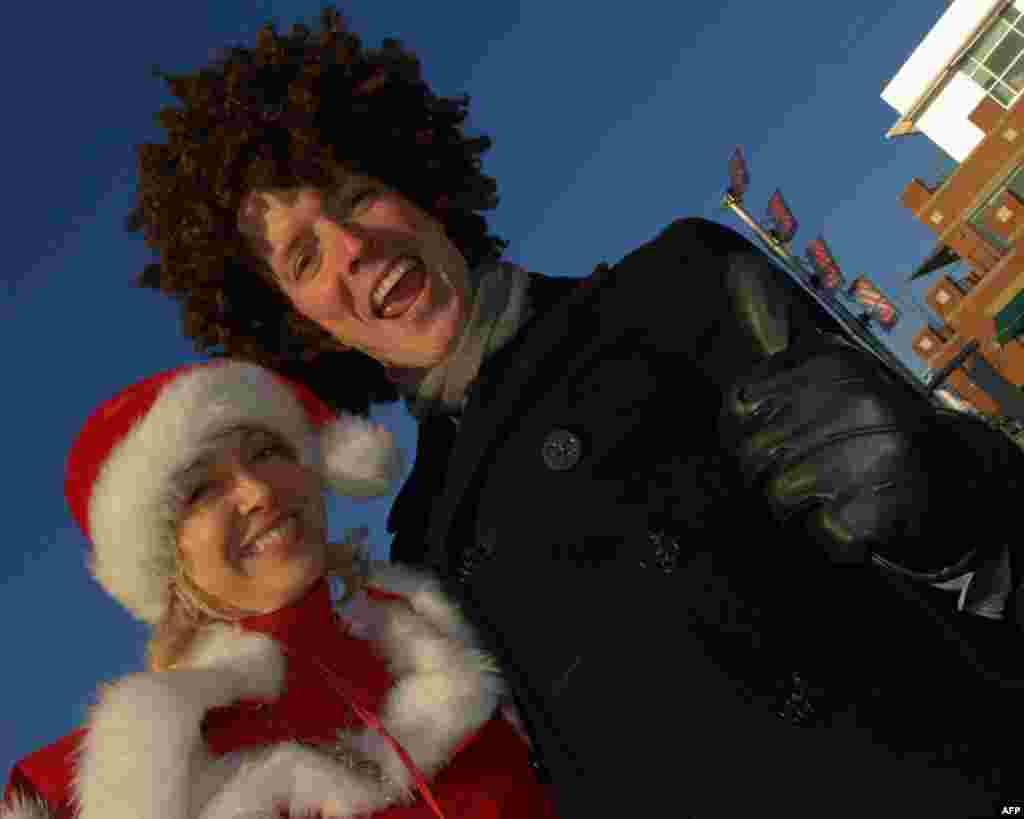 Новый вираж Санта-Клауса