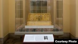 安置在美国国会大厦的大宪章复制品